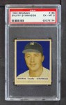 1949 Bowman #165  Snuffy Stirnweiss  Front Thumbnail