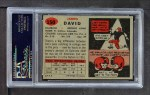 1957 Topps #150  Jim David  Back Thumbnail