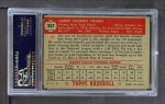 1952 Topps #337  Jim Hearn  Back Thumbnail