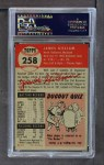 1953 Topps #258  Jim Gilliam  Back Thumbnail