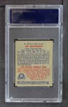 1949 Bowman #160  Jim Blackburn  Back Thumbnail