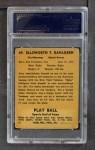 1941 Play Ball #49  Babe Dahlgren  Back Thumbnail