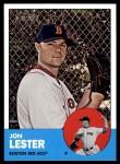2012 Topps Heritage #76  Jon Lester  Front Thumbnail