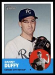 2012 Topps Heritage #104  Danny Duffy  Front Thumbnail