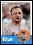2012 Topps Heritage #316  Billy Butler  Front Thumbnail