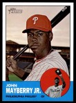 2012 Topps Heritage #465  John Mayberry Jr.  Front Thumbnail