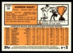 2012 Topps Heritage #368  Andrew Bailey  Back Thumbnail