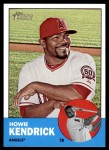 2012 Topps Heritage #57  Howie Kendrick  Front Thumbnail