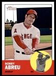 2012 Topps Heritage #335  Bobby Abreu  Front Thumbnail