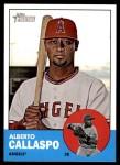 2012 Topps Heritage #249  Alberto Callaspo  Front Thumbnail