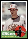 2012 Topps Heritage #50  Madison Bumgarner  Front Thumbnail