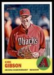 2012 Topps Heritage #166  Kirk Gibson  Front Thumbnail