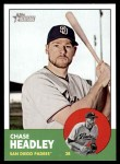 2012 Topps Heritage #110  Chase Headley  Front Thumbnail
