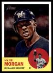 2012 Topps Heritage #137  Nyjer Morgan  Front Thumbnail