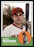 2012 Topps Heritage #153  Miguel Montero  Front Thumbnail