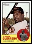 2012 Topps Heritage #108  Vladimir Guerrero  Front Thumbnail
