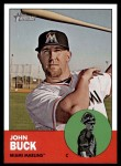 2012 Topps Heritage #41  John Buck  Front Thumbnail