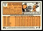 2012 Topps Heritage #493  Josh Willingham  Back Thumbnail