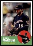 2012 Topps Heritage #179  Shaun Marcum  Front Thumbnail
