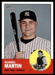 2012 Topps Heritage #340  Russell Martin  Front Thumbnail