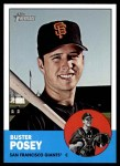 2012 Topps Heritage #85  Buster Posey  Front Thumbnail