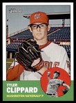 2012 Topps Heritage #263  Tyler Clippard  Front Thumbnail