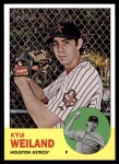 2012 Topps Heritage #216  Kyle Weiland  Front Thumbnail