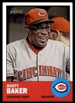 2012 Topps Heritage #422  Dusty Baker  Front Thumbnail