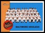 2012 Topps Heritage #377   Orioles Team Front Thumbnail