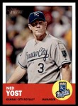 2012 Topps Heritage #23  Ned Yost  Front Thumbnail