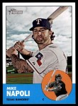 2012 Topps Heritage #485  Mike Napoli  Front Thumbnail