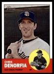 2012 Topps Heritage #437  Chris Denorfia  Front Thumbnail