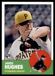 2012 Topps Heritage #184  Jared Hughes  Front Thumbnail