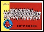 2012 Topps Heritage #202   Red Sox Team Front Thumbnail