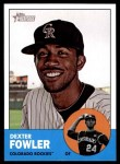 2012 Topps Heritage #217  Dexter Fowler  Front Thumbnail