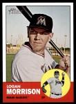 2012 Topps Heritage #385  Logan Morrison  Front Thumbnail