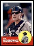 2012 Topps Heritage #196  Tim Federowicz  Front Thumbnail