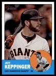 2012 Topps Heritage #199  Jeff Keppinger  Front Thumbnail