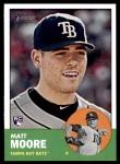 2012 Topps Heritage #391  Matt Moore  Front Thumbnail
