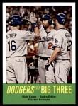 2012 Topps Heritage #412   -  Matt Kemp / Andre Ethier / Clayton Kershaw Dodgers Big Three Front Thumbnail