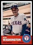 2012 Topps Heritage #102  Ron Washington  Front Thumbnail