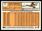 2012 Topps Heritage #83  Lance Berkman  Back Thumbnail