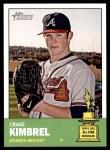 2012 Topps Heritage #398  Craig Kimbrel  Front Thumbnail