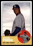 2012 Topps Heritage #405  Michael Pineda  Front Thumbnail