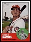 2012 Topps Heritage #94  Wilson Ramos  Front Thumbnail