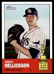 2012 Topps Heritage #111  Jeremy Hellickson  Front Thumbnail