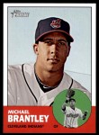 2012 Topps Heritage #103  Michael Brantley  Front Thumbnail
