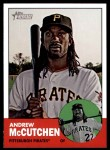 2012 Topps Heritage #87  Andrew McCutchen  Front Thumbnail