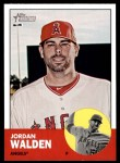 2012 Topps Heritage #49  Jordan Walden  Front Thumbnail