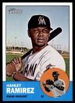 2012 Topps Heritage #122  Hanley Ramirez  Front Thumbnail